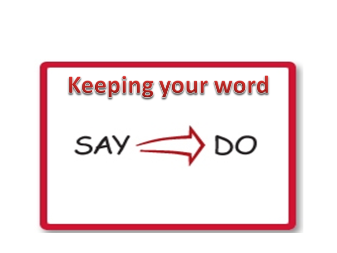 Keeping-your-word